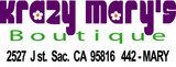 Sacramento Krazy Mary's Boutique California state worker discounts